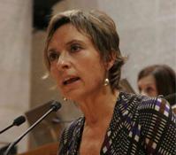 Nieves Ibeas Vuelta, Presidenta Nazional de Chunta Aragonesista (CHA) y Diputada de CHA en las Cortes de Aragón